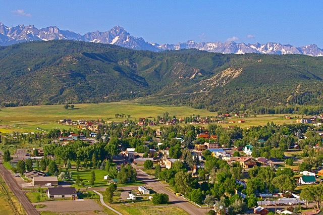 Ridgway, Colorado. Aplenglow will be in town!