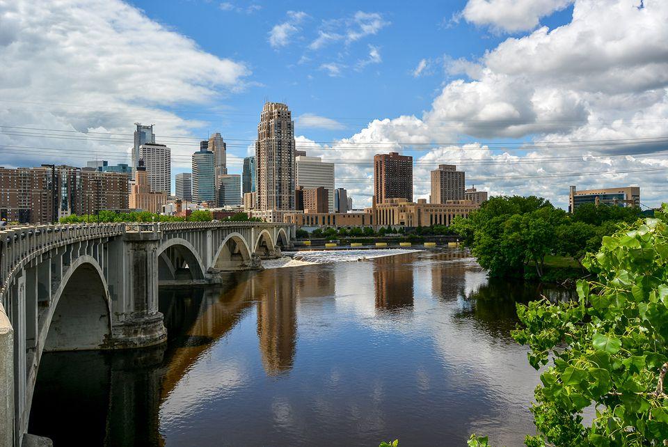 St Anthony Falls, Minneapolis